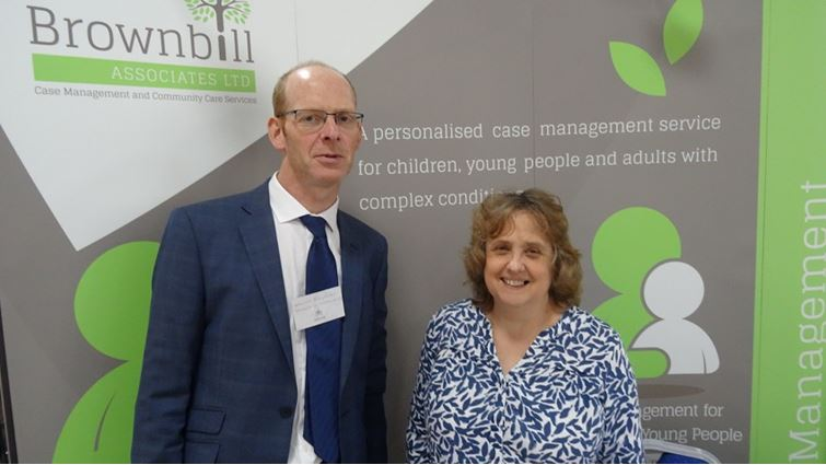 Martin Ridgway (Case Manager) and Charlotte Mawby (Clinical Paediatric Operations Manager & Case Manager)